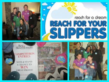 Reach for a Dream  - National Slipper Day<br> 7 August 2015