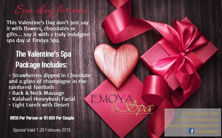Valentines Day 2015 Spa Specials In Johannesburg ✓ Enam Valentine